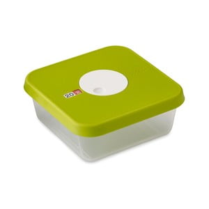 Zelená krabička na potraviny Dial, objem 1,2l