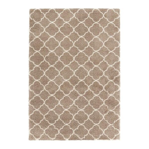 Hnědý koberec Mint Rugs Grace, 120x170cm