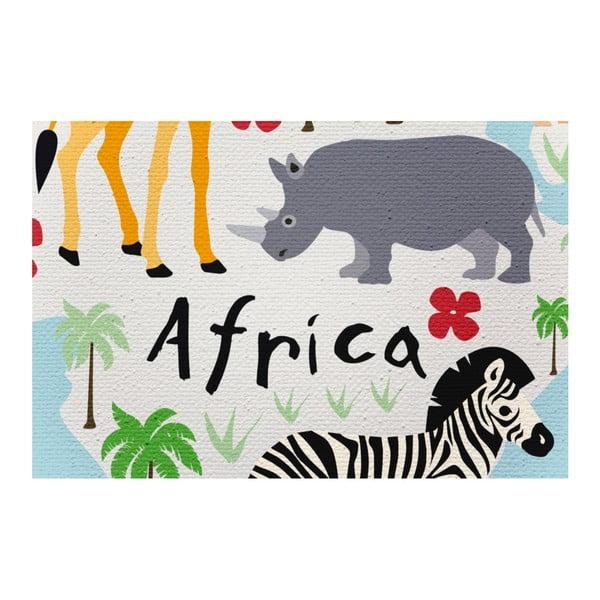 Obraz na plátně Little Nice Things Animal Map, 60 x 40 cm