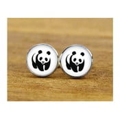 Sada 2 manžetových knoflíčků Butoni de Camasa Panda