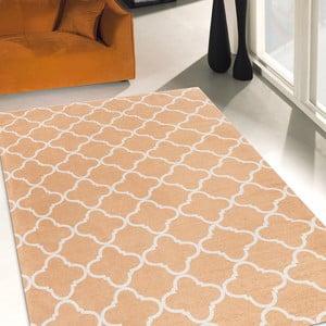Vysoce odolný kuchyňský koberec Webtappeti Trellis Apricot, 60x150 cm