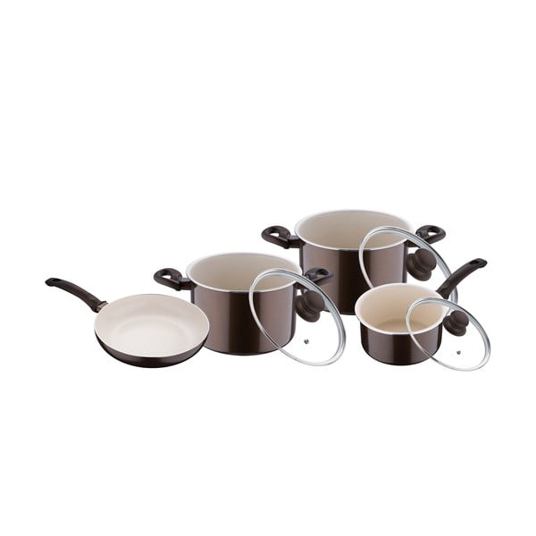 Set Cooking Brown, 7 ks