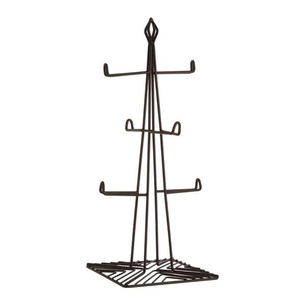 Železný stojan na 6 hrnčekov Premier Housewares, výška 37 cm