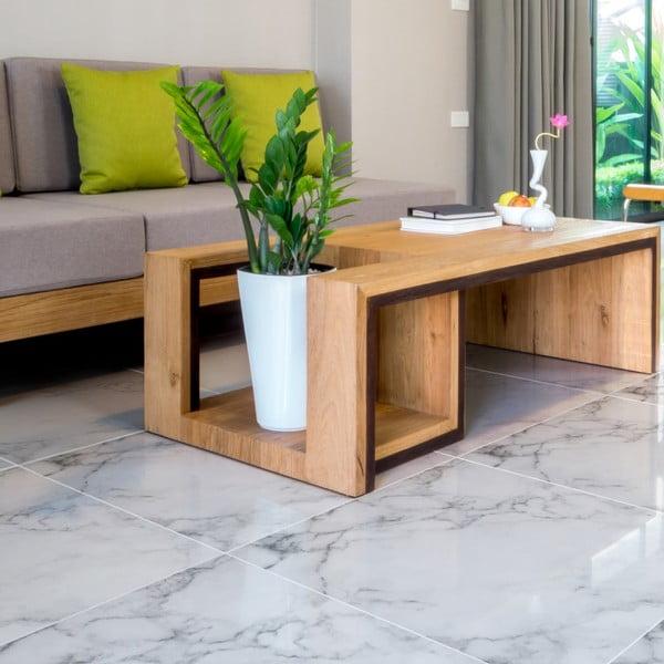 Autocolant de podea Ambiance White Marble, 30 x 30 cm