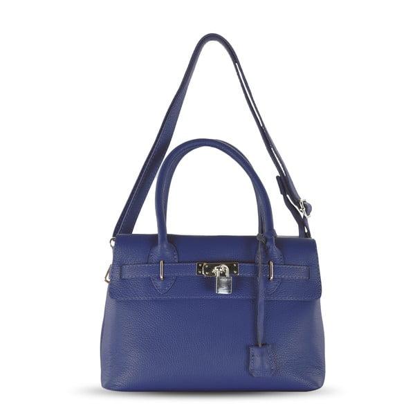 Kožená kabelka Jen, modrá