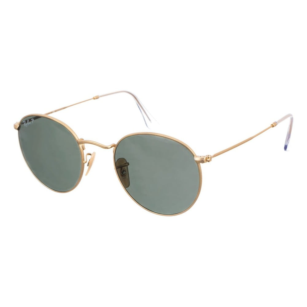 Sluneční brýle Ray-Ban Round Metal Dorado Matte