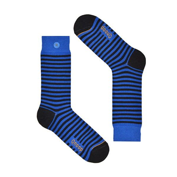 Ponožky Qnoop Linear Small Blue, vel. 43-46