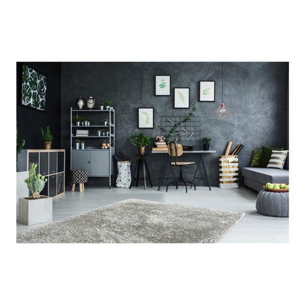 Šedý ručně vyráběný koberec Obsession My Touch Me Ster, 60 x 110 cm