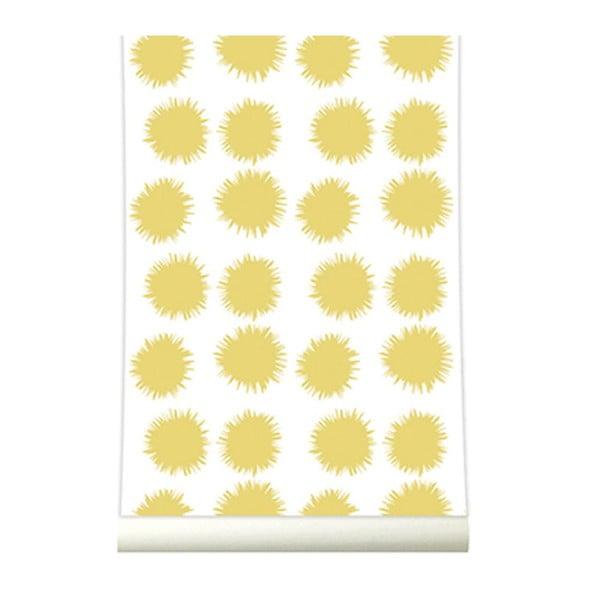 Tapeta Fluff Yellow