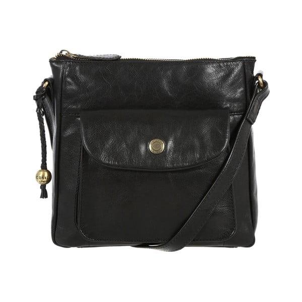 Dámská kožená taška Shirley Black
