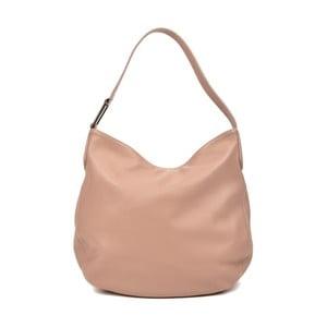 Růžovobéžová kožená kabelka Isabella Rhea Gerrie