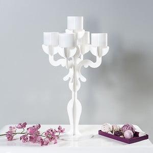 Stojan na svíčky Vittoriale Bianco