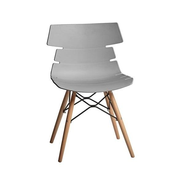 Set 4 scaune Marckeric Iris, gri