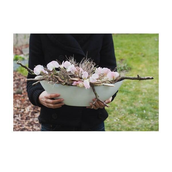 Květinová dekorace od Aranžérie, růžové květy hrachoru