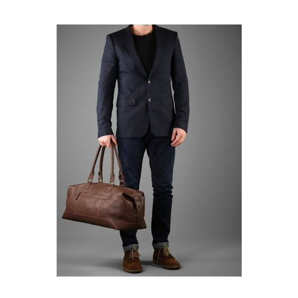 Taška Harbour Brown Holdall
