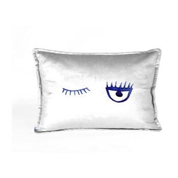 Față de pernă decorativă Velvet Atelier Lulu, 50 x 25 cm, alb de la Velvet Atelier