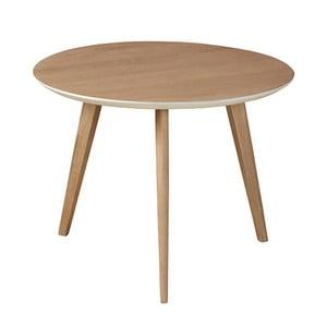 Odkládací stolek z masivního mangového dřeva Woodjam Play Light