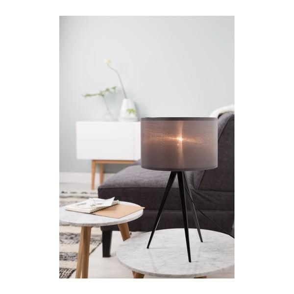 Černo-šedá stolní lampa Zuiver Tripod