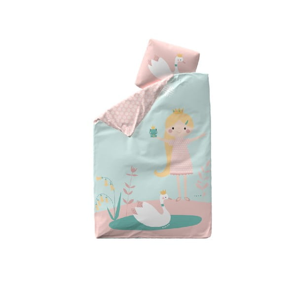 Bawełniana pościel dziecięca Flexa Little Princess, 140x200 cm + 50x70 cm