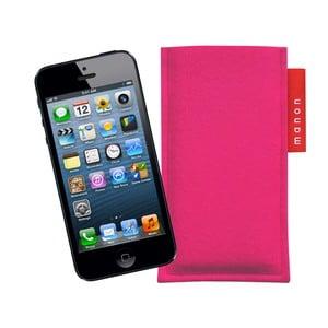 Plstěný obal na iPhone 5/5C/5S, bright pink