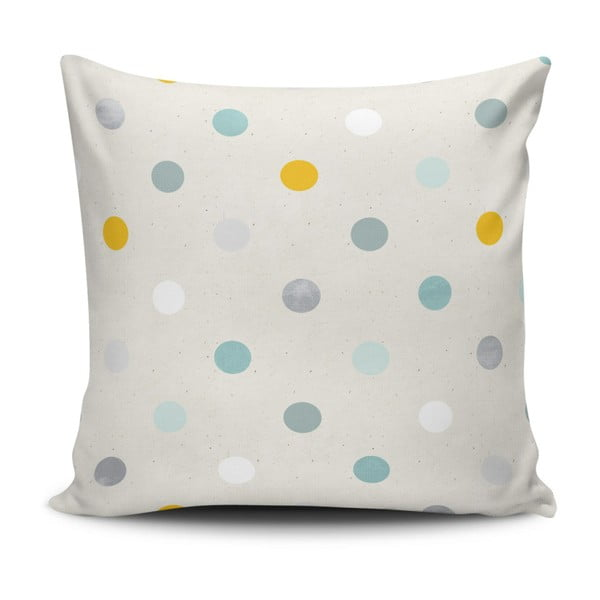 Polštář s příměsí bavlny Cushion Love Puro Leio, 43 x 43 cm