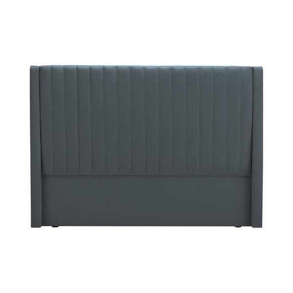 Čelo postele v grafitově šedé barvě Cosmopolitan design Dallas, 200x120cm