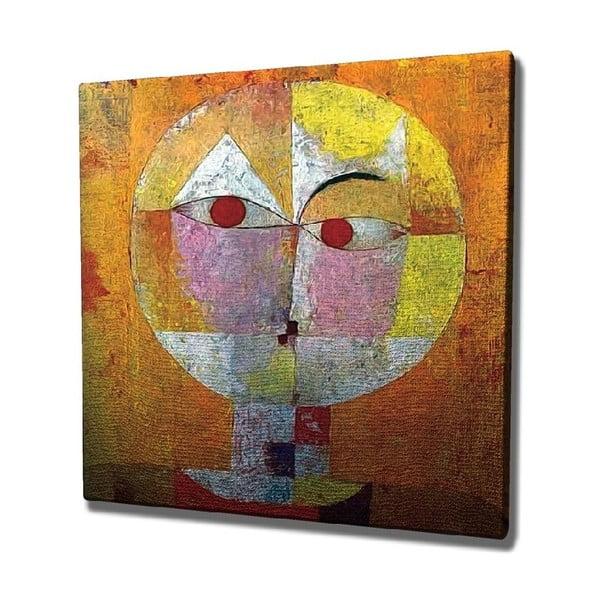 Reproducere tablou pe pânză Paul Klee, 45 x 45 cm
