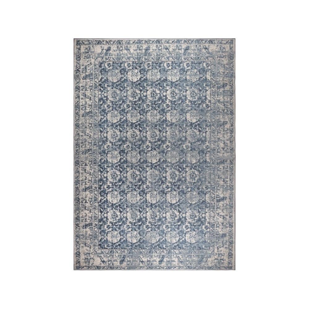 Vzorovaný koberec Zuiver Malva Denim, 170 x 240 cm