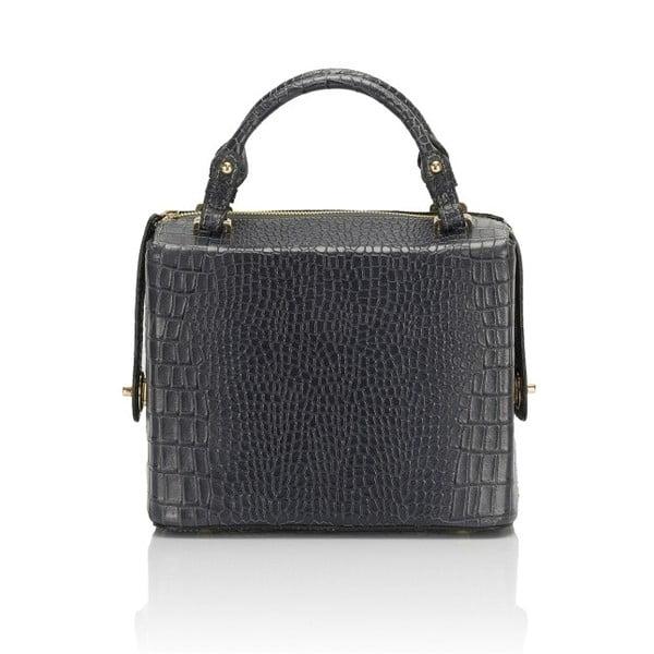Šedá kožená kabelka Lisa Minardi Luciano