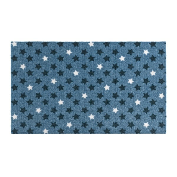 Modrá rohožka Hanse Home Design Star Blue, 50 x 70 cm