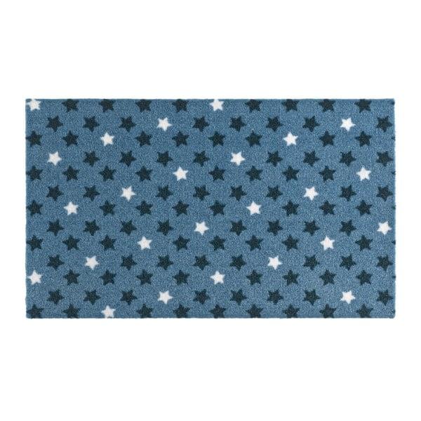 Modrá rohožka Hanse Home Design Star Blue, 50x70cm