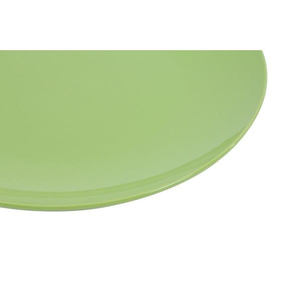 Sada 6 talířů Kaleidos 27 cm, zelená