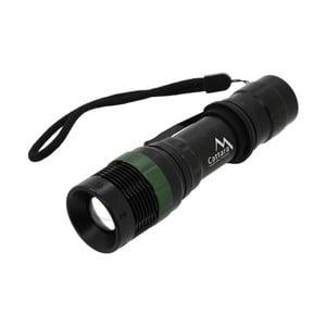 Lanternă LED Cattara ZOOM, negru