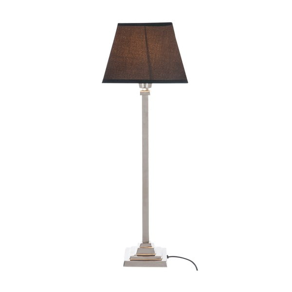 Stolní lampa Classic Silver, 48 cm