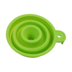 Zelený skládací trychtýř Bergner