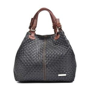Černá kožená kabelka Isabella Rhea Matildo