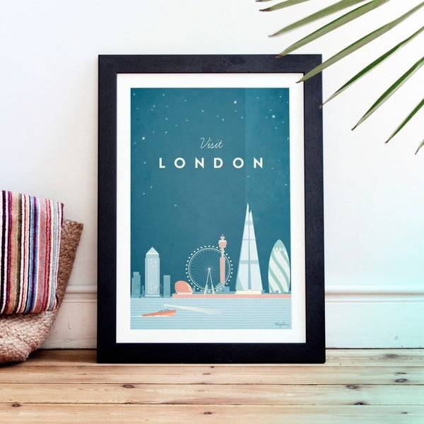 Plakát Travelposter London, A2