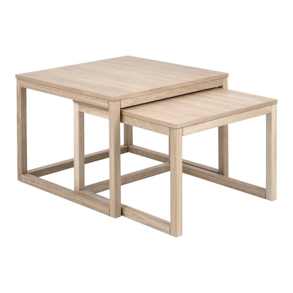 Konferenční stolek s podnožím z dubového dřeva Actona Coffee Cornus