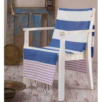 Prosop hammam Antalya Blue, 100x180 cm imagine