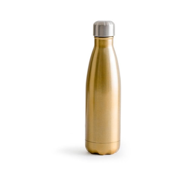 Hot&Cold aranyszínű termosz rozsdamentes acélból, 500 ml - Sagaform