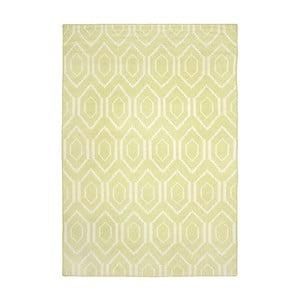 Vlněný koberec Safavieh Casablanca Lime, 153x243cm