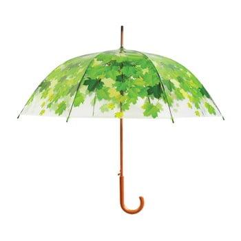 Umbrelă transparentă rezistentă la vânt Ambiance Birdcage Leaf, ⌀92,5cm imagine