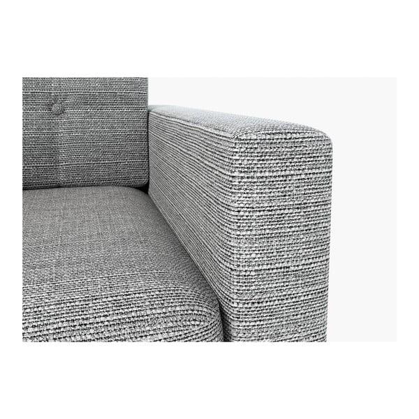 Sofa New York pro dva, šedivé