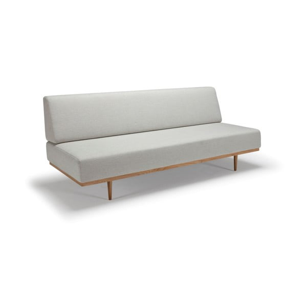 Kremowa sofa rozkładana Innovation Vanadis Mixed Dance Natural