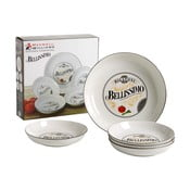 Set 5 farfurii pentru paste Maxwell & Williams Bellissimo