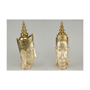Dekorativní hlava Buddha Gold, 40 cm