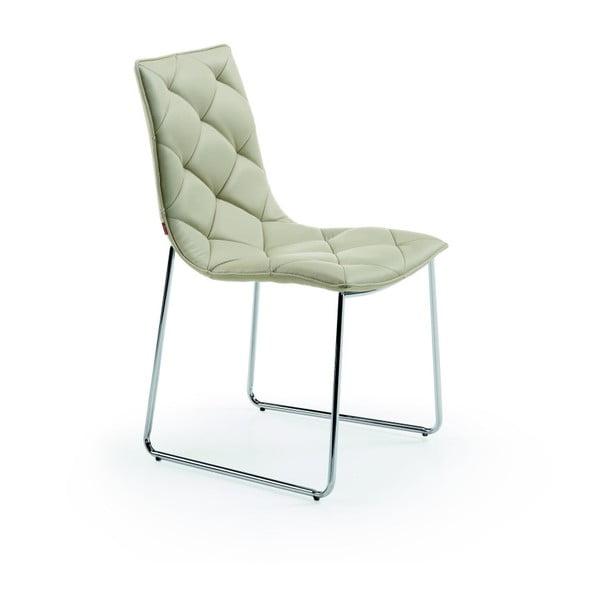 Židle v perlové barvě La Forma Baxter