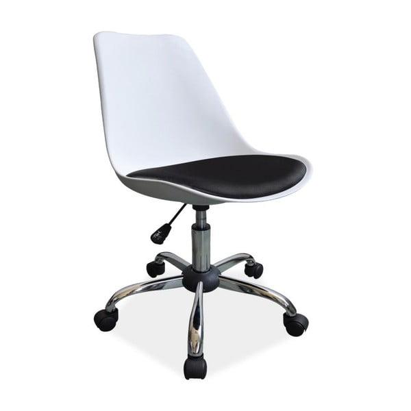Pracovní židle Office White/Black