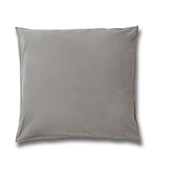 Față de pernă din bumbac Casa Di Bassi Softtouch, 80 x 80 cm, bej