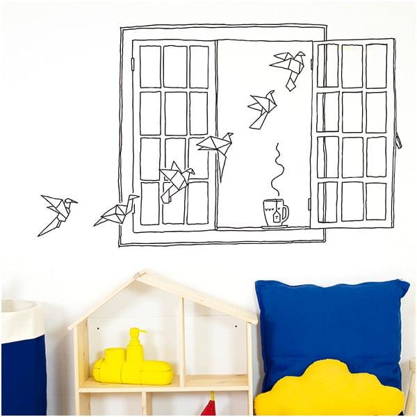 Samolepka Chispum Paper Birds Window